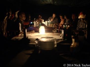 2014_Dinner at Camp
