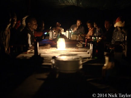 2014_Dinner at Camp