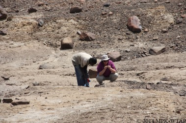 2014_hilary and sammy identify stone tools