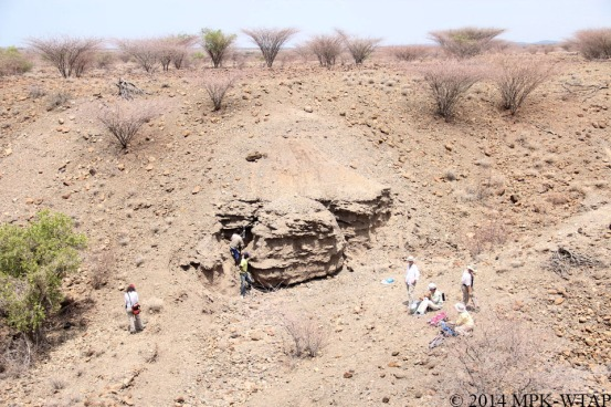 2014_taking geological samples for experiments