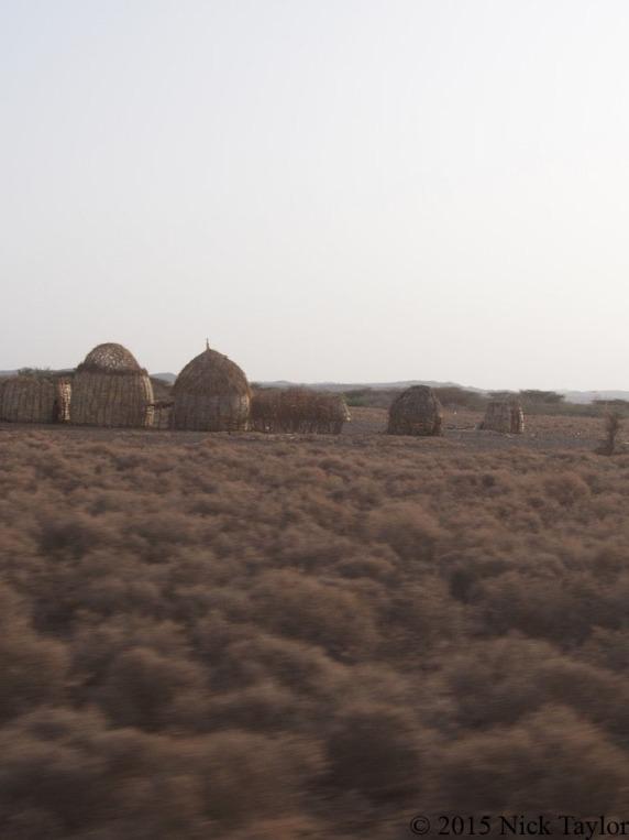 2015_A Turkana village in the evening light