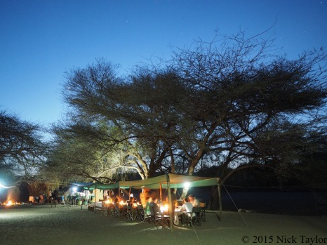 2015_Dinnertime at camp