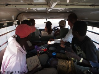 2015_Like sardines on the way to the site