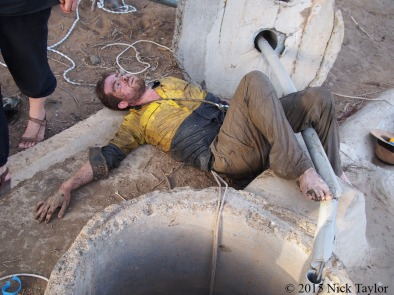 2015_Nick escaping the bottom of the well