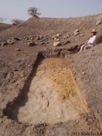 2015_Sonia at a Nasura 3 test trench