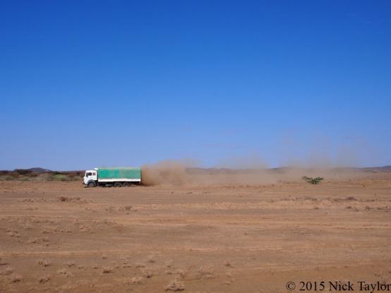 2015_TBI truck kicking up dust