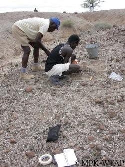 Kamoya Kimeu and Sammy Lokorodi