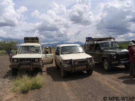 On the road to Turkana