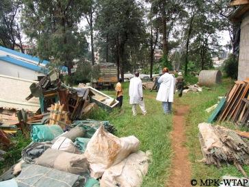 packing field gear at the NMK Nairobi_2
