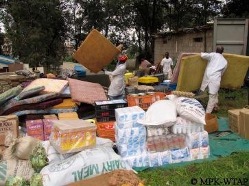packing field gear at the NMK Nairobi_3