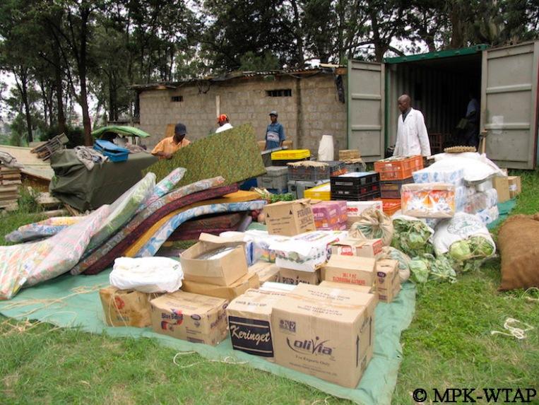 packing field gear at the NMK Nairobi_4