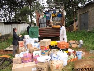 packing field gear at the NMK Nairobi_5