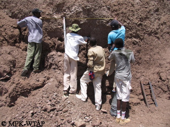 Sourcing geological samples