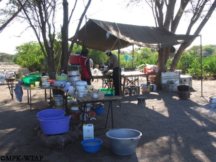 the camp kitchen