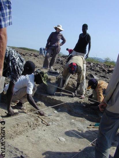 The Nasura 1 excavation progressing