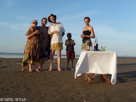 An afternoon break at the Lake with Ignacio de la Torre and Melanie Terrade