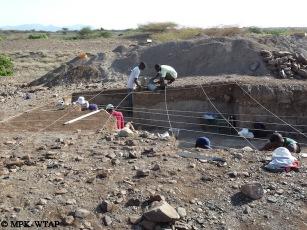 Nasura 1 excavation