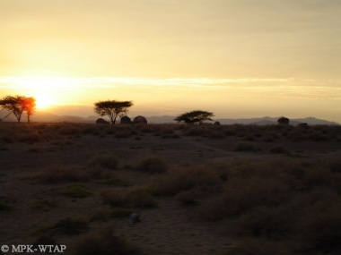 Sunset in Turkana