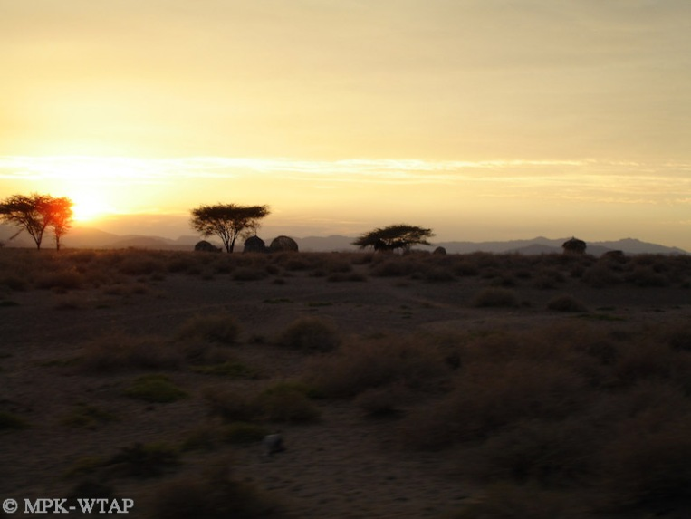 Sunset in Turkana