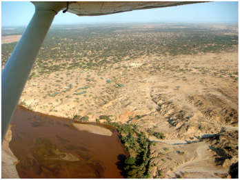 TBI Turkwel facility from the air