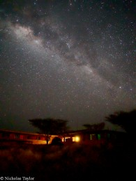The Milky Way at TBI Turkwel