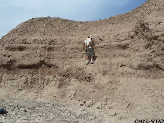 2011_Geologist Chris Lepre taking samples_2