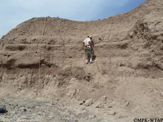 2011_Geologist Chris Lepre taking samples_2
