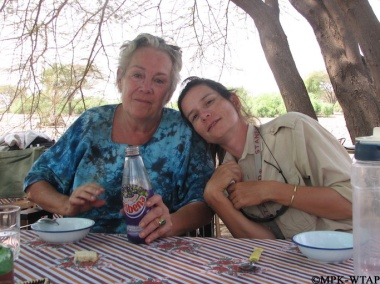 2011_sonia and Francoise at the WTAP camp