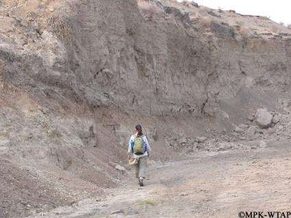 2011_Sonia examining outcrops