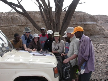 2011_The survey team