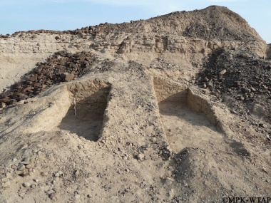 2011_Twin excavation trenches