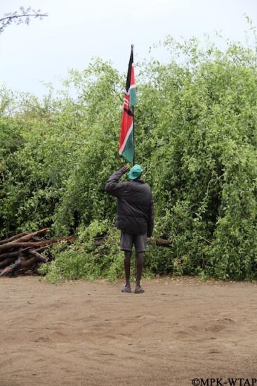 2012_Longolei saluting the Kenyan flag