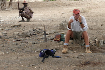 2013_A geologist's breaktime
