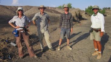 2013_Jose Joordens, Craig Feibel and colleagues working to reconstruct Turkana paleoenvironments
