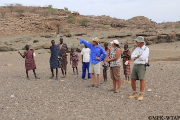 2013_visiting the spring (not shown) near the Lomekwi fieldcamp