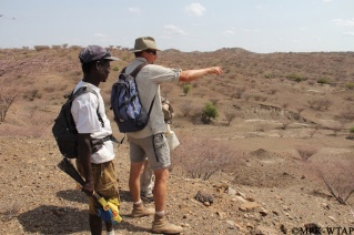 2015_Xavier and Sammy surveying