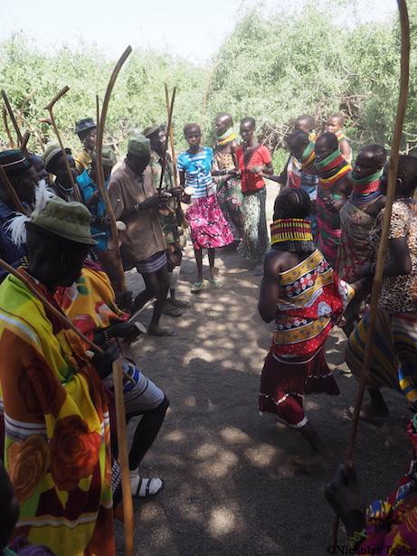 2016_A traditional Turkana dance