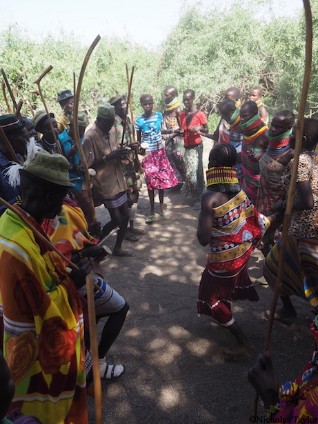 2016_A traditional Turkana dance
