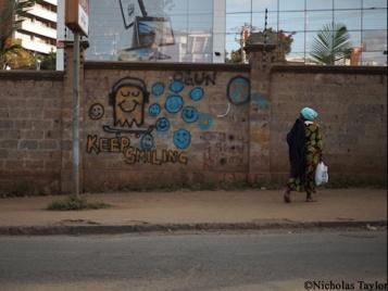 2016_'Keep smiling', Nairobi