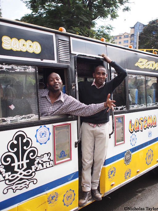 2016_Matatu customers, Nairobi