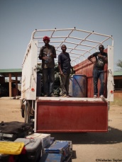 2016_Packing up the truck with equipment