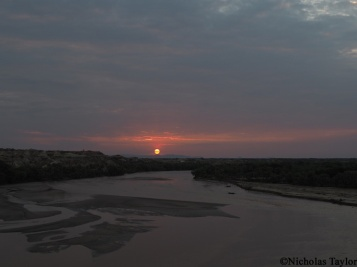 2016_Sunset at Turkana Basin Institute, Turkwel