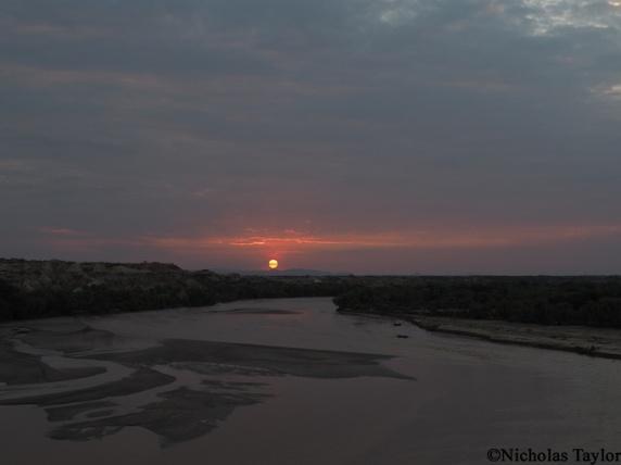 2016_Sunset at Turkana Basin Institute, Turkwel