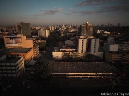 2016_Sunset in Nairobi