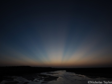 2016_Sunset over the Turkwel River