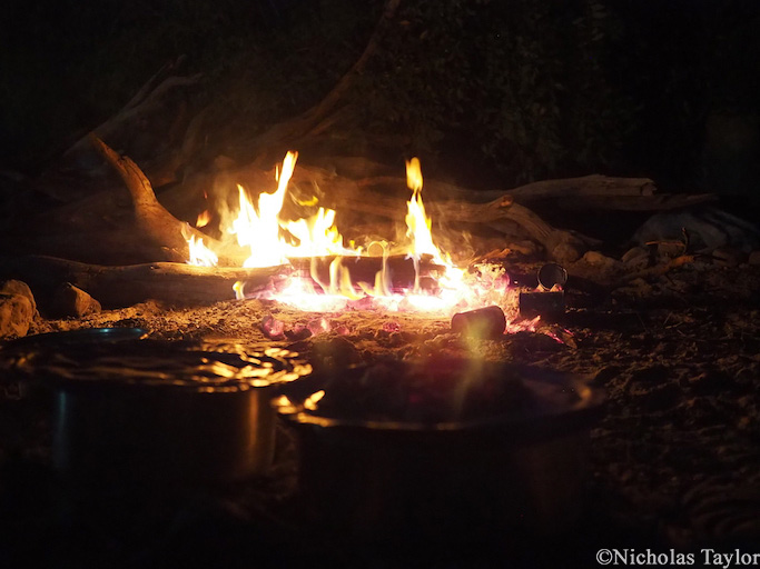 2016_The campfire