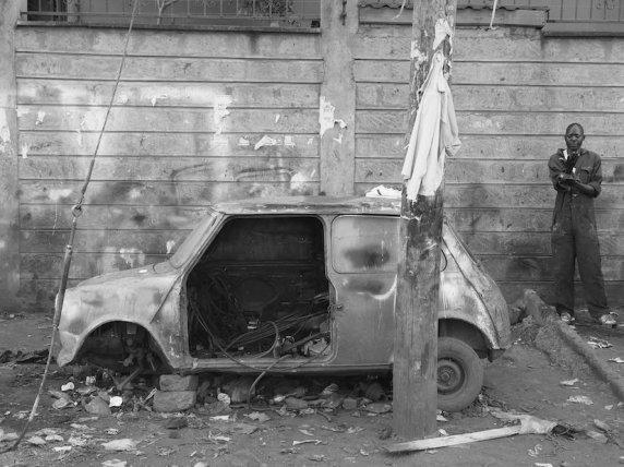 A Nairobi mechanic