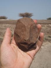 A surface biface near Nariokotome