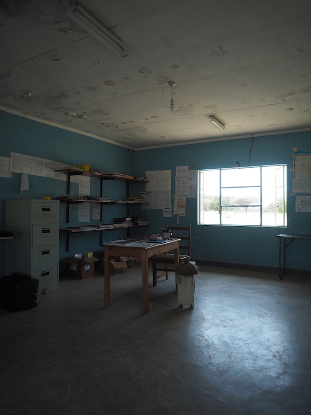 A Turkana dispensary (medical centre)