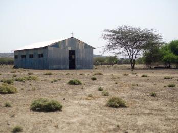 A typical Turkana church